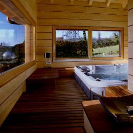 Le Spa et la Nature - Chambre d'hôtes - Ville-en-Sallaz