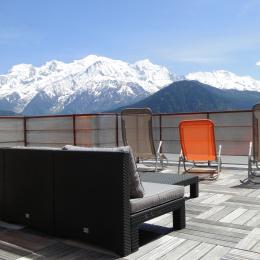 Le bonheur! Quoi de mieux. Un pur plaisir face au Mont-Blanc - Location de vacances - Passy