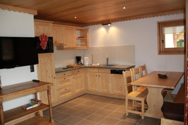 EVETTES : Appartement dans chalet avec sauna et hammam à la montagne en Haute-Savoie - Location de vacances - Praz-sur-Arly