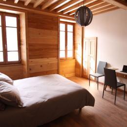 Salle d'eau chambre avec douche italienne - Location de vacances - Faverges-Seythenex