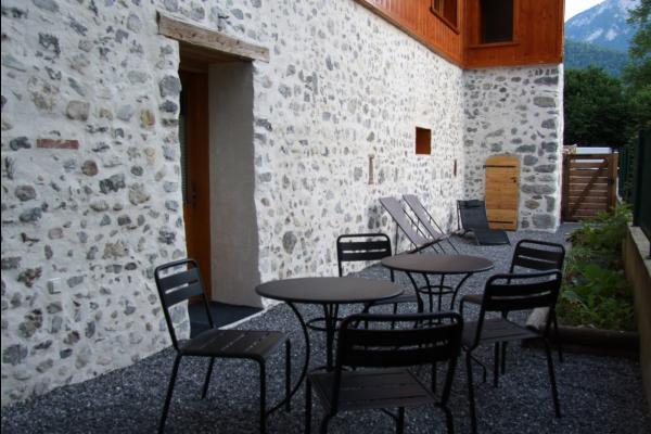Séjour et cuisine - Location de vacances - Faverges-Seythenex
