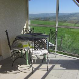 Terrasse abritée - Location de vacances - Mésigny