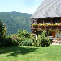 Espace jardin - Location de vacances - Dingy-Saint-Clair