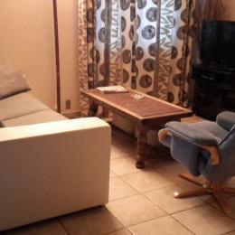 Salon (convertible) Télévision - écran plat - Location de vacances - Dingy-Saint-Clair