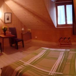 Chambre de 20 m2 - Chambre d'hôtes - Villaz