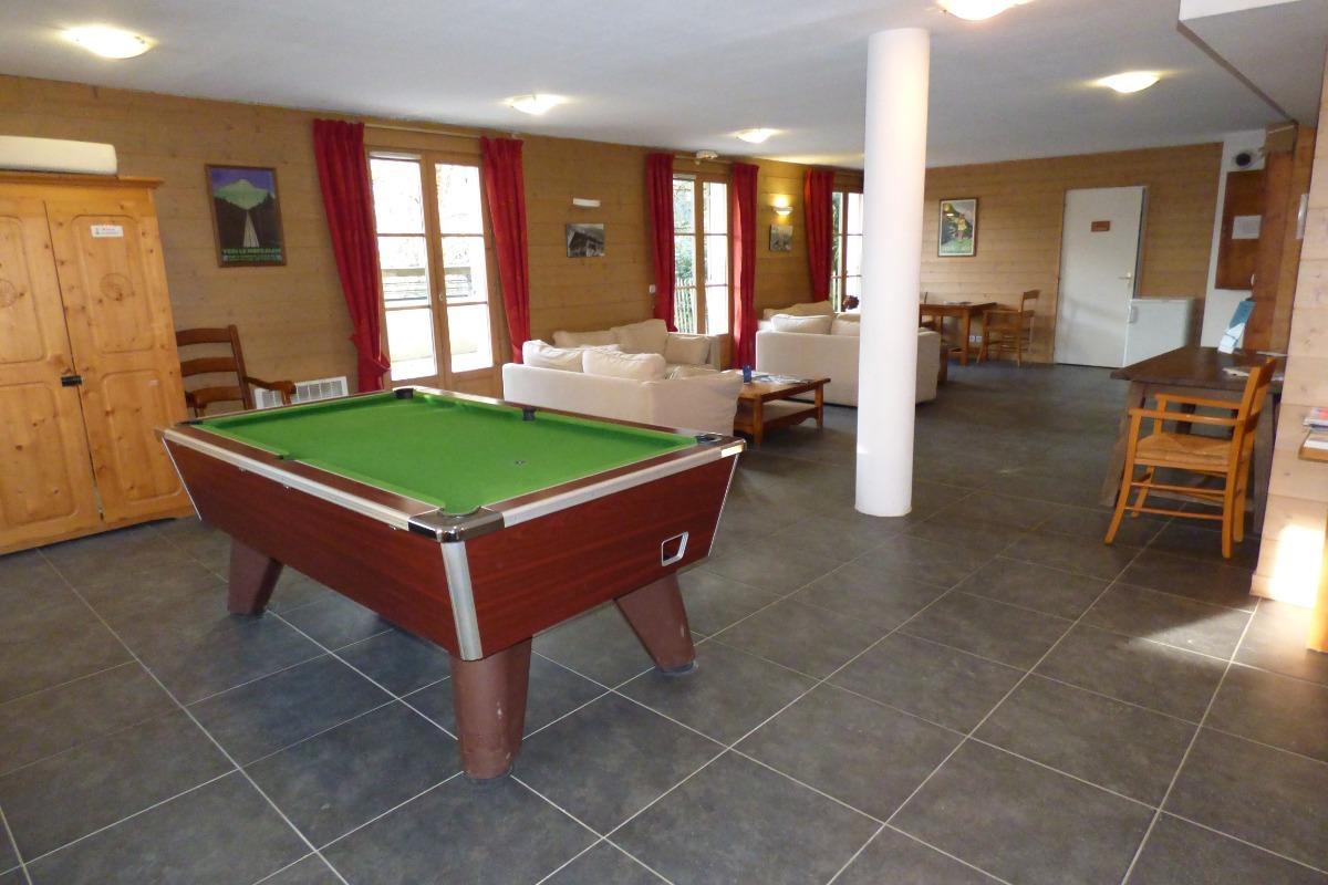 billard dans la residence - Location de vacances - Saint Gervais