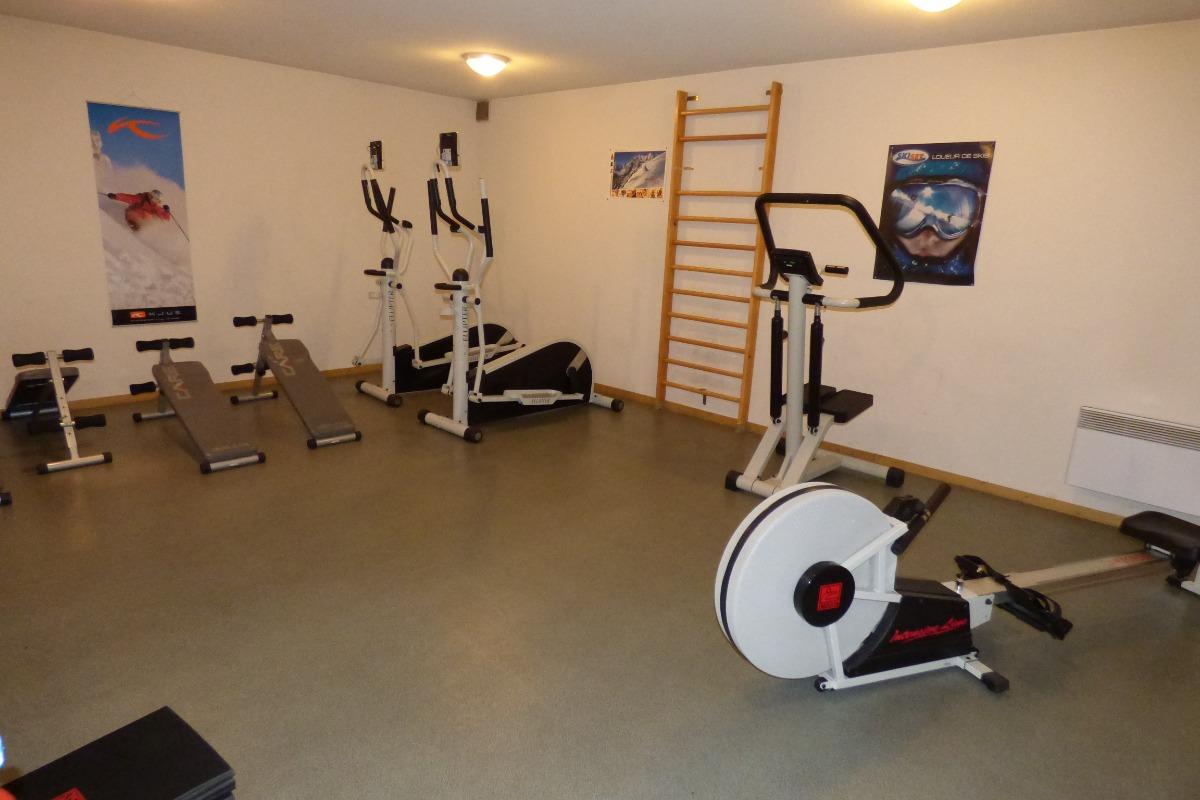 salle de sport dans la résidence - Location de vacances - Saint Gervais