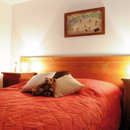 chambre suite parentale - Location de vacances - Saint Gervais