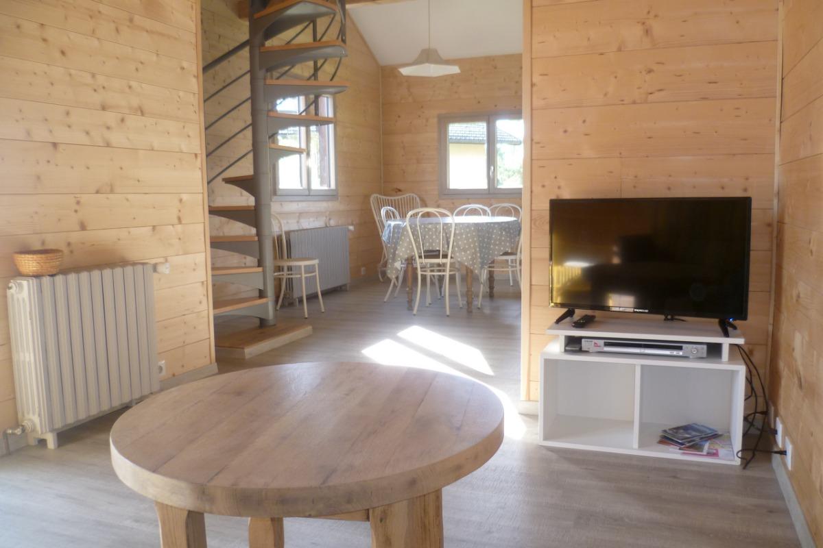 lit sur mezzanine - Location de vacances - Charvonnex