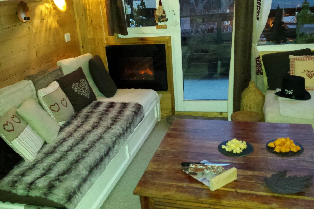 entrée et cuisine - Location de vacances - Morzine