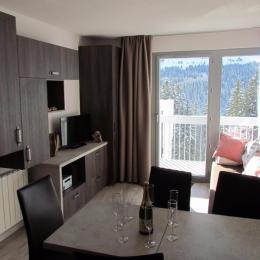 Appartement Haute Savoie station FLAINE Grand Massif 6 personnes Mont Blanc - Location de vacances - Arâches-la-Frasse