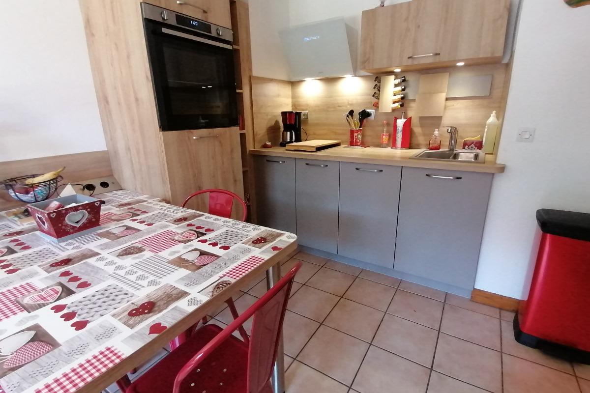 Appartement Praz sur Arly - lumineux - Location de vacances - Praz-sur-Arly