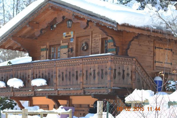 Location chalet à St Gervais les Bains - Chalet de poupée à St Gervais les Bains en Haute-Savoie - Location de vacances - Saint-Gervais-les-Bains