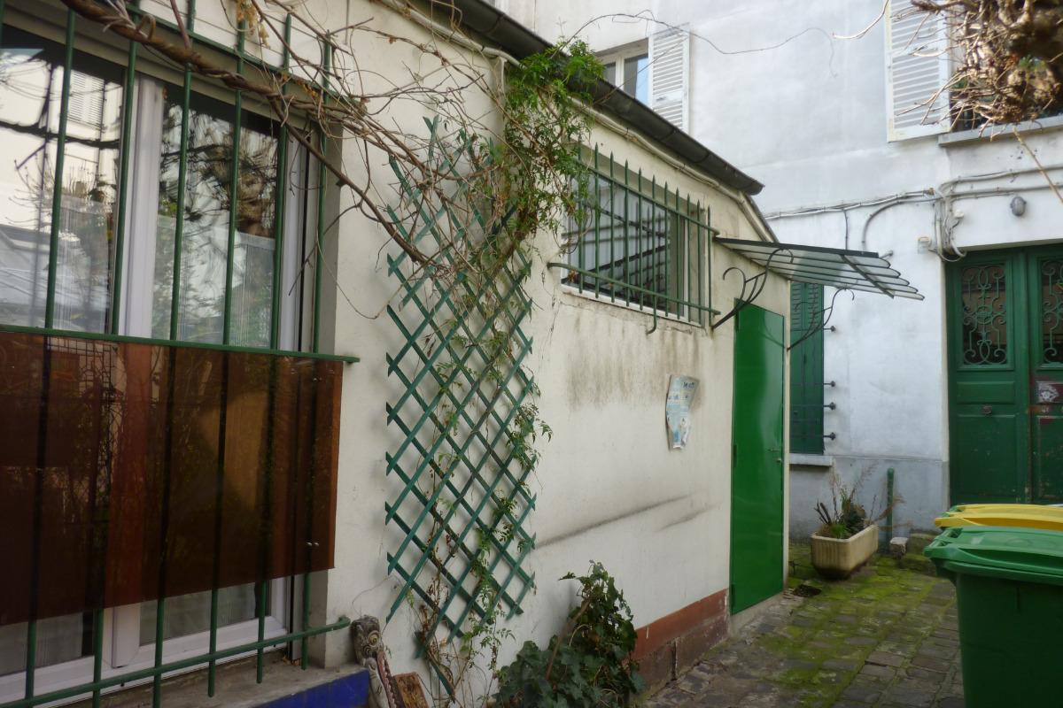 extérieur du studio - Location de vacances - Paris