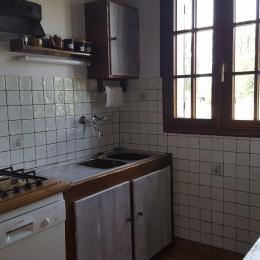 coin cuisine - Location de vacances - Sainte-Geneviève