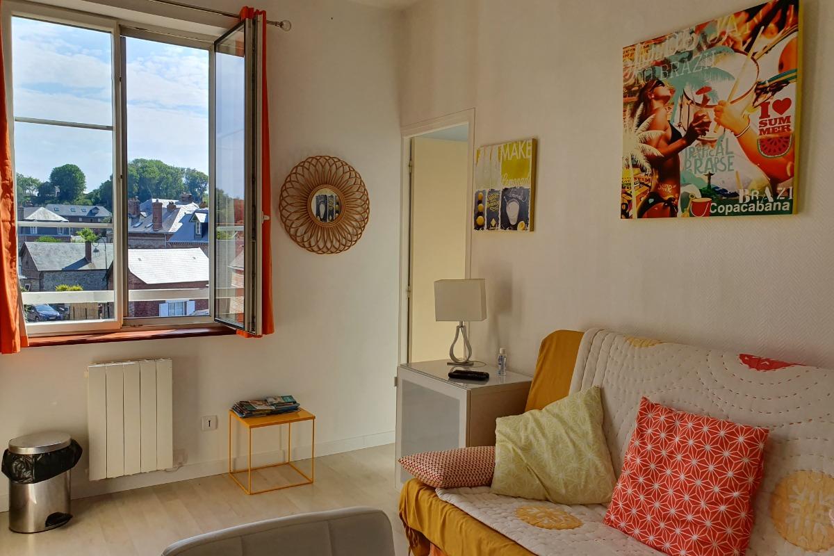 Pièce principale 13 m2 - Location de vacances - Veules-les-Roses
