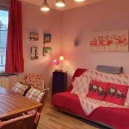 Vue sur la mer et la plage de Veules les Roses - Location de vacances - Veules-les-Roses