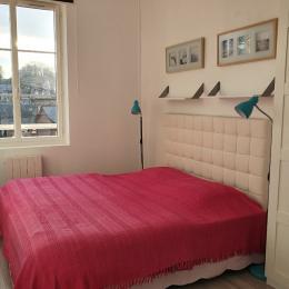 Chambre avec 2 lits en 90 (ou 1 lit en 180) - Location de vacances - Veules-les-Roses