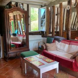 la cuisine toute équipée - Location de vacances - Écrainville