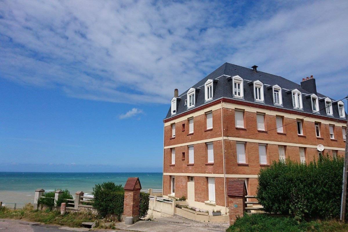 Résidence pleine mer avec le parking privé en front de mer  - Location de vacances - Saint-Pierre-en-Port