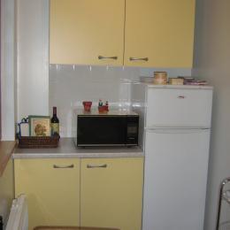 cuisine façade arrière - Location de vacances - Yport / Fecamp