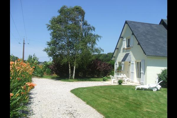 Gite Les Lys Etretat - Jardin - Location de vacances - Le Tilleul