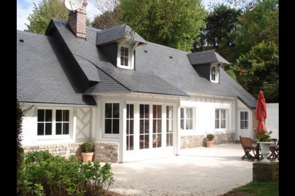 façade sud - Location de vacances - Saint-Valery-en-Caux
