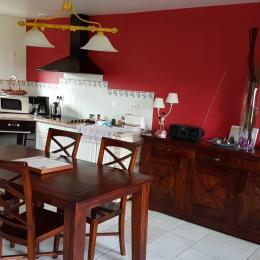 la cuisine - Location de vacances - Froberville