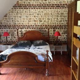 la chambre  les mouettes - Location de vacances - Froberville