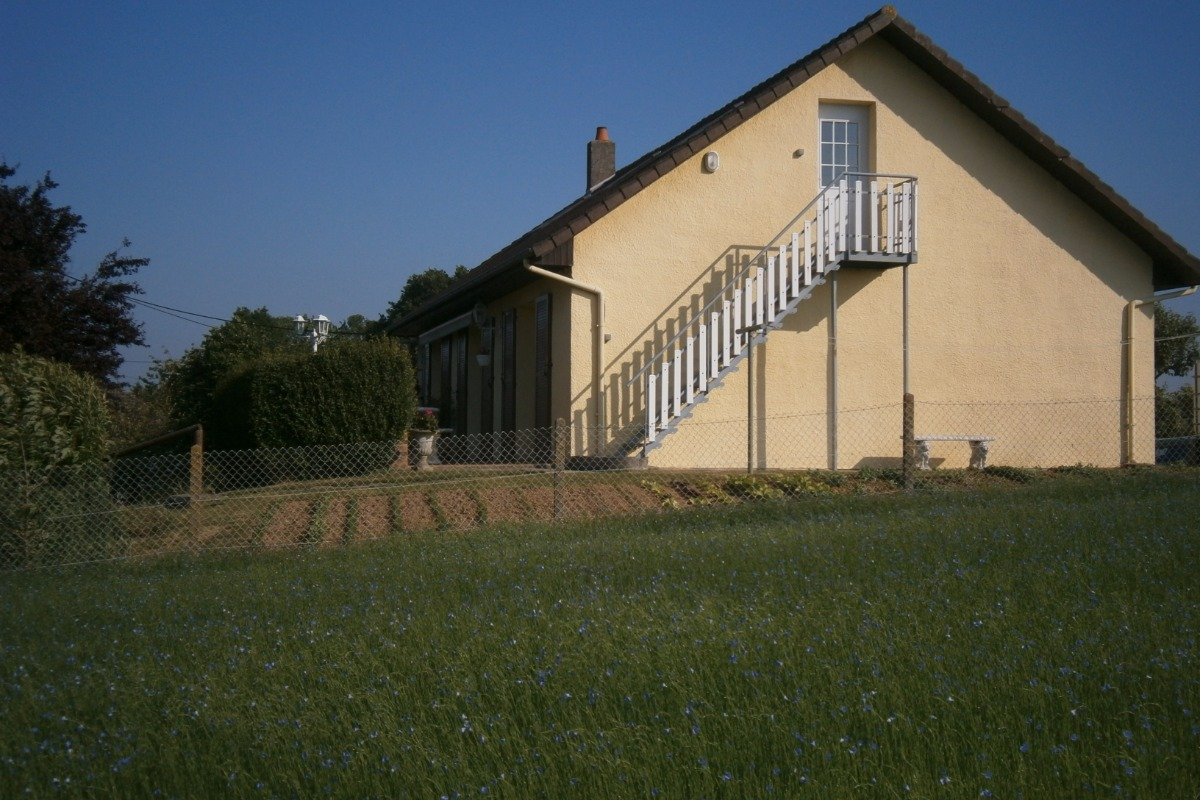 Photo Maison accès chambres - Chambre d'hôtes - Pierreval