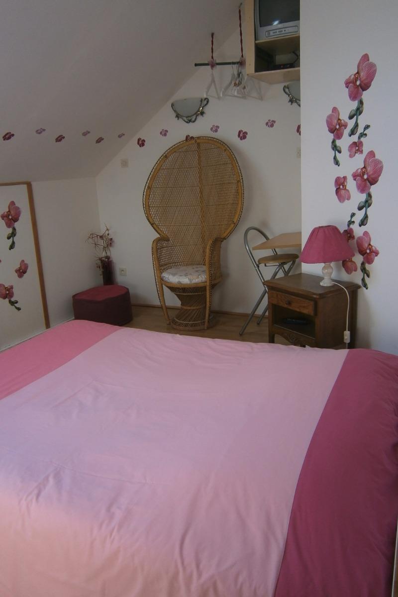 Chambre Orchidée - Chambre d'hôtes - Pierreval