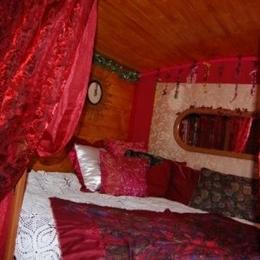 Confortable lit en alcôve (150x200) - Location de vacances - Saint-Jouin-Bruneval