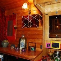 A disposition, un réfrigérateur, un micro onde, une cafetière Senseo, un chauffage - Location de vacances - Saint-Jouin-Bruneval