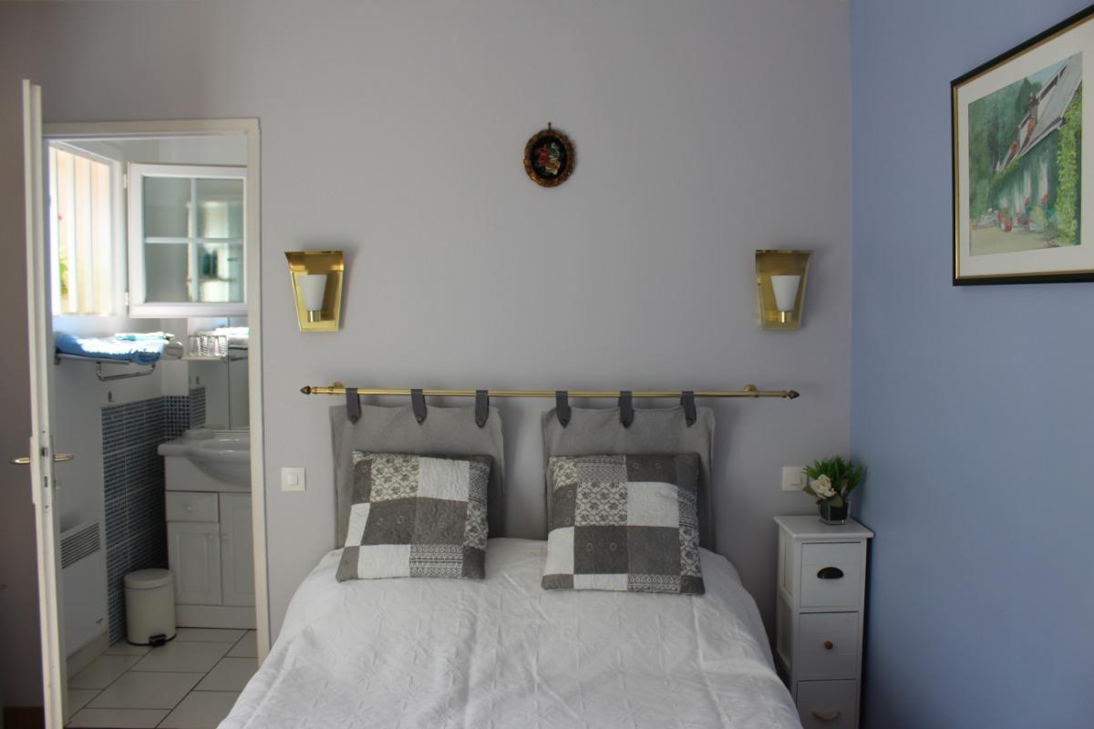 Chambre cosy avec salle de douche - Chambre d'hôtes - Vattetot-sur-Mer