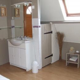coin toilette - Chambre d'hôtes - Saint-Pierre-le-Viger