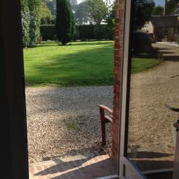 le jardin - Chambre d'hôtes - Froberville
