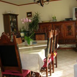 Salle dejeuner - Chambre d'hôtes - Pierreval