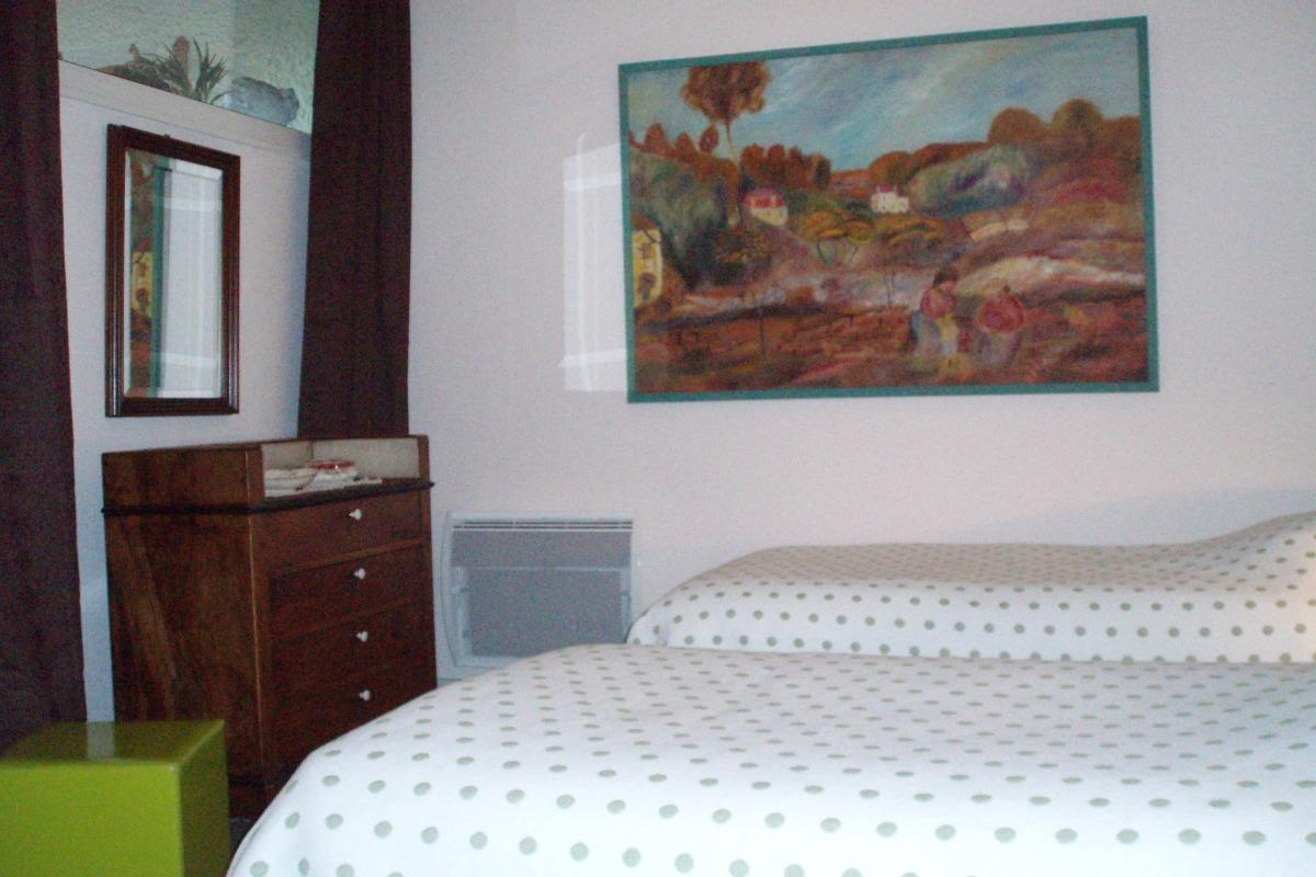 f80a3214093 ... chambre attenante avec lits jumeaux de la suite Vasterival - Chambre  d hôtes - Varengeville ...