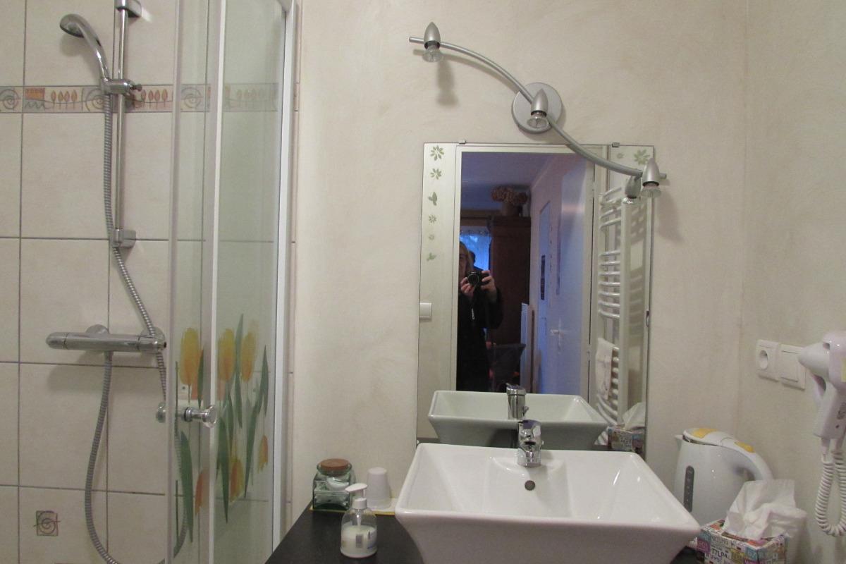 cabinet de toilettes douche - Chambre d'hôtes - Varengeville-sur-Mer