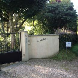 entrée de la propriété  - Chambre d'hôtes - Varengeville-sur-Mer