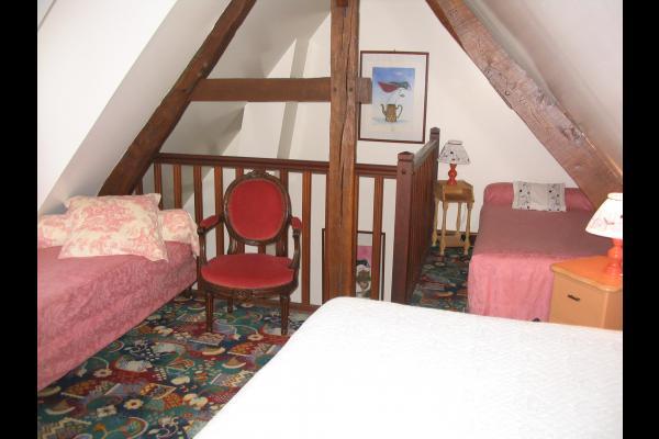 chambre étage logt 1 - Location de vacances - Montville