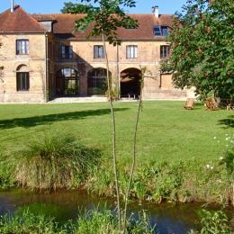 La Huilerie, vue générale depuis jardin - Location de vacances - Incheville