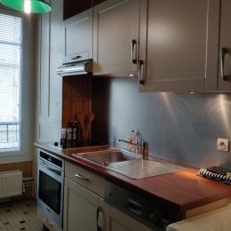 Le 177 Le Havre : cuisine aménagée - Location de vacances - Le Havre