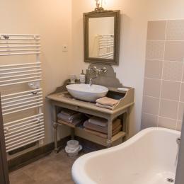 La salle de bain - Location de vacances - Veules-les-Roses