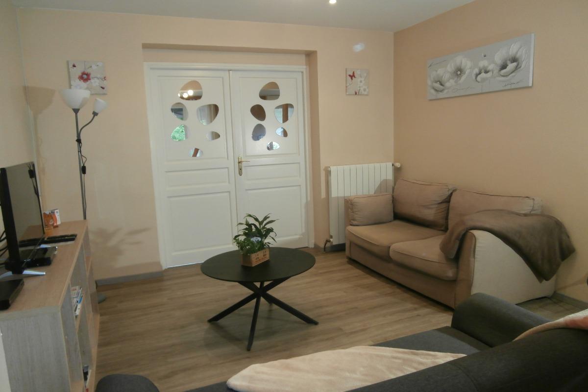 La pièce à vivre - Location de vacances - Saint-Pierre-en-Val