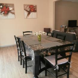 La cuisine ouverte sur le séjour - Location de vacances - Saint-Pierre-en-Val