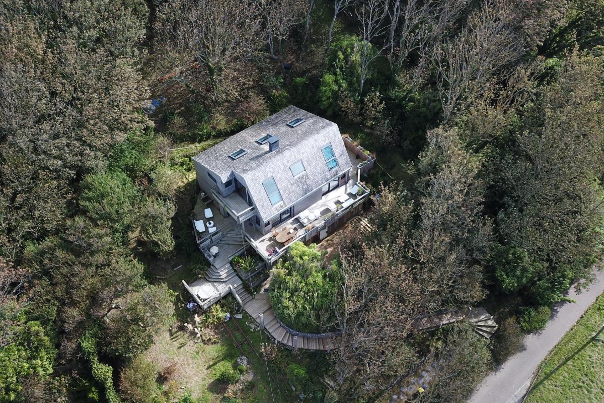 Villa vue du ciel - Location de vacances - Saint-Léonard