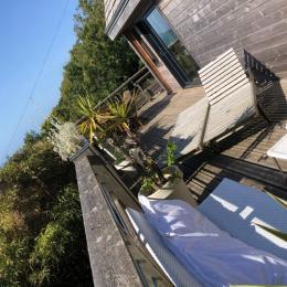 Terrasse coté mer - Location de vacances - Saint-Léonard