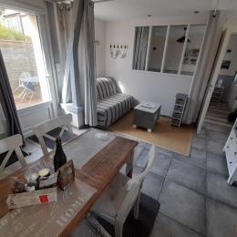 Coin cuisine - Location de vacances - Octeville-sur-Mer