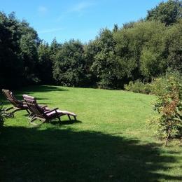 Le jardin - Chambre d'hôtes - Sainte-Marguerite-sur-Mer